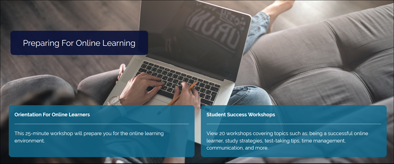 Screenshot of Innovative Educators Workshop page